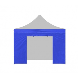 Aga Bočnice s dveřmi POP UP 4,5 m Blue