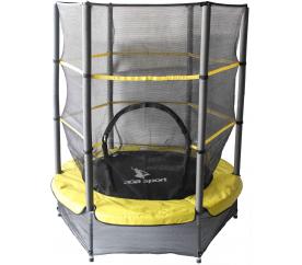 Aga gyerek  trambulin 140 cm Yellow + védőháló