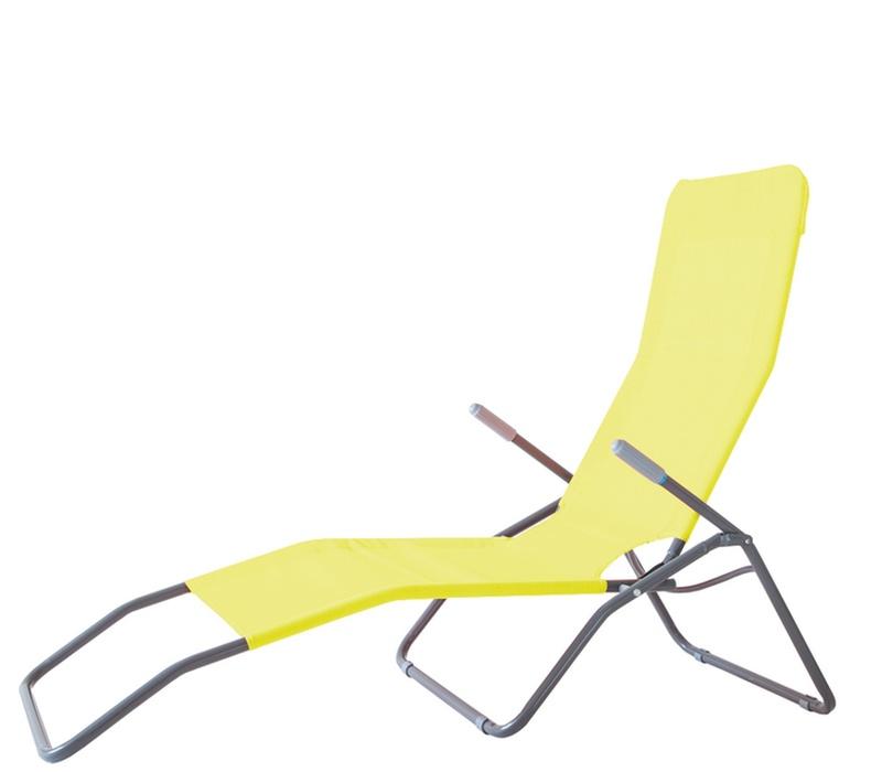 Aga Zahradní lehátko SIESTA 102C Yellow