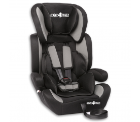 Aga4Kids Autosedačka Black - Grey