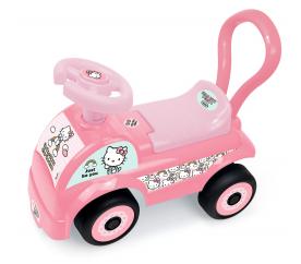 Darpeje lábbal hajtható kisautó Hello Kitty