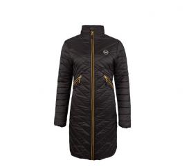 Versace 19.69 Dámský prošívaný kabát C66 Black