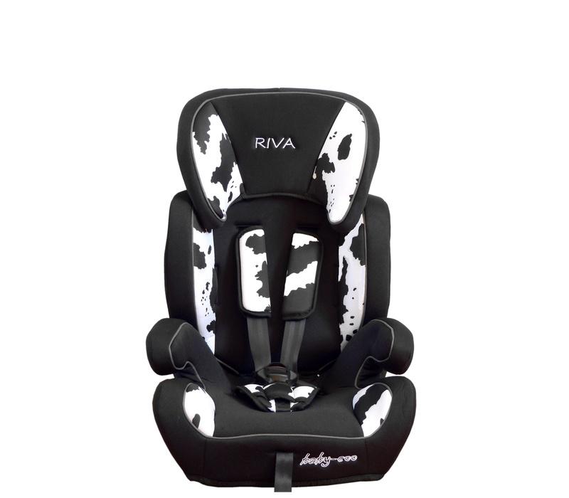 Baby Coo autosedačka RIVA 2018 Black White