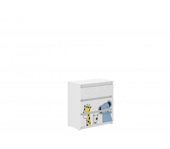 Wooden Toys Dětská komoda Mini ZOO R-3