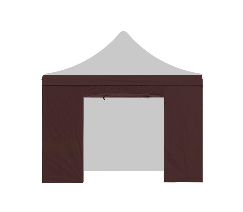Aga Bočnice s dveřmi 2x2 m Brown