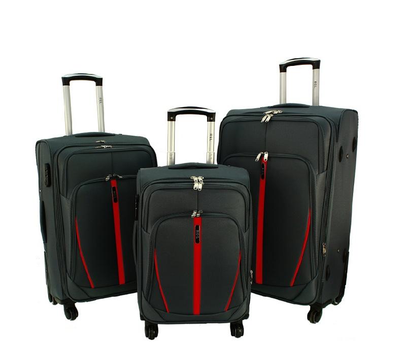 RGL Cestovní kufry HCS020 XXL,XL,L Barva: Grey