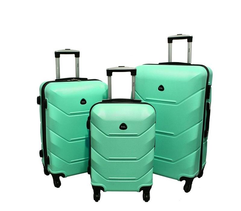 RGL Cestovní kufry HC720 XXL,XL,L Barva: Mint