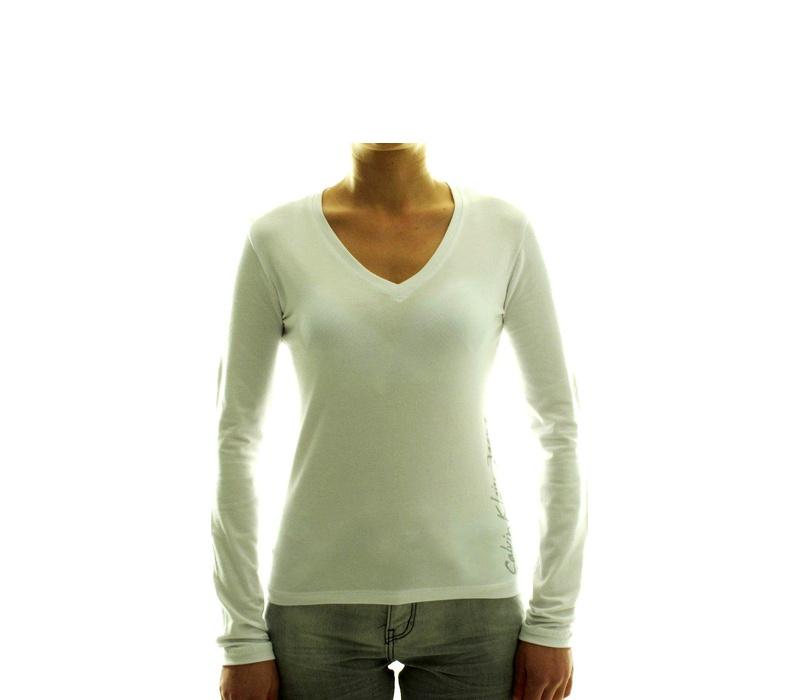 CALVIN KLEIN Dámske tričko cwp03m Blanc