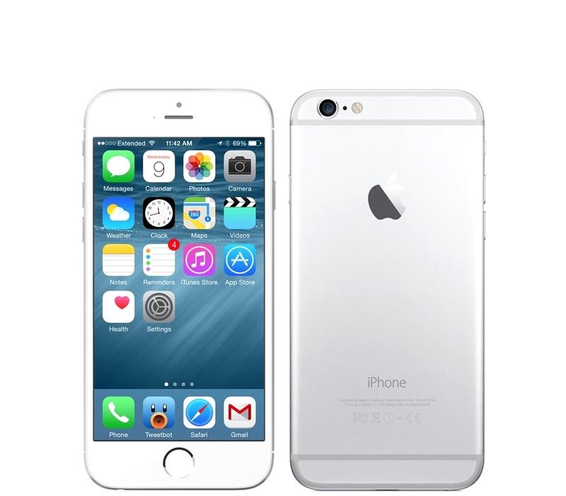 Apple iPhone 6 128GB Silver Kategorie: C