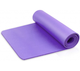 Linder Exclusiv podložka na cvičenie YOGA Violet 180x80x1 cm