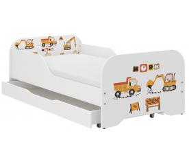 Wooden Toys Dětská postel Work 160x80 cm
