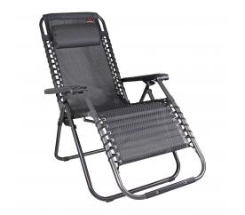 Linder Exclusiv Zahradní křeslo AERO GRT Grey-Black
