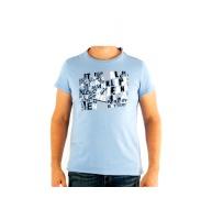CALVIN KLEIN cmp57p 6b2 Blue Clear férfi póló