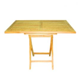 Linder Exclusiv Stół ogrodowy z drewna tekowego T14C 110x70x75 cm