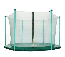 Aga Siatka do trampoliny 430 cm 14ft wewnętrzna na 6 słupków Dark Green