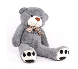Aga4Kids Plyšový medvěd MR13004F 130 cm Šedý