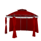 Linder Exclusiv Altana ogrodowa PAVILON MC3602 Burgundy