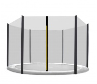 Aga Ochranná síť 275 cm na 6 tyčí Black net / Black