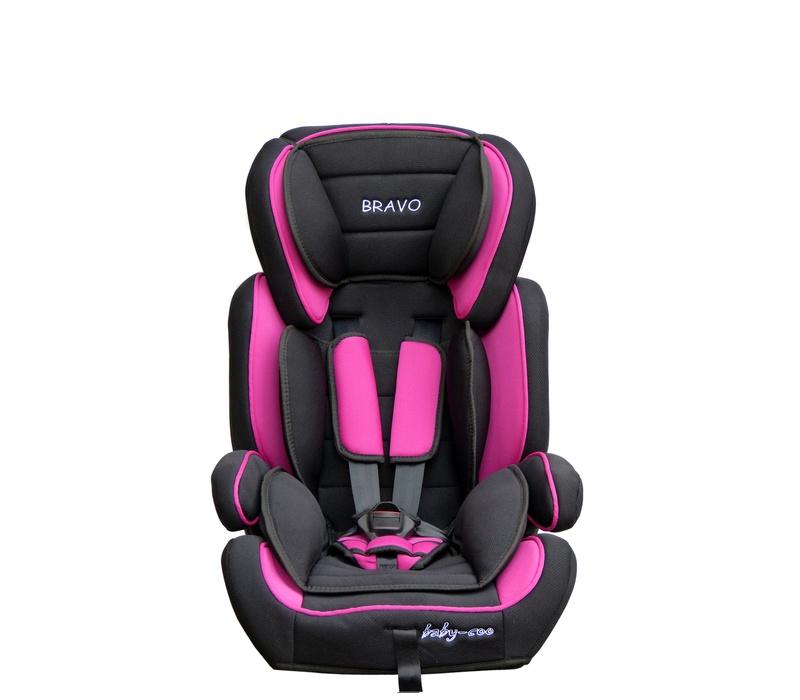 Baby Coo autosedačka BRAVO 2018 Black Pink