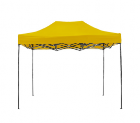 Aga pót tető POP UP 3x6 m Yellow