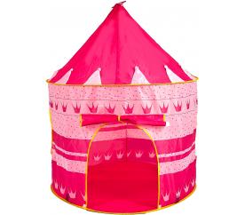 Aga4Kids Namiot domek dla dzieci zamek Pink