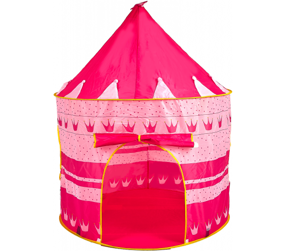 Aga4Kids Detský hrací stan Castle Pink