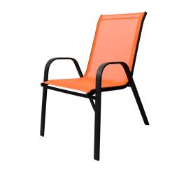 Aga Krzesło ogrodowe ALU STAPEL MR4400O Orange