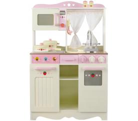 aGa4kids Drewniana kuchnia dla dzieci - RETRO COOKER