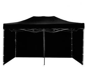 Aga kerti sátor 3S 3x6 m Black