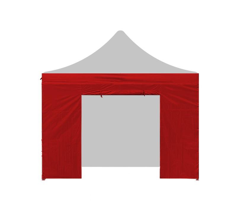Aga Bočnice s dveřmi 3x3 m Red