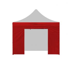 AGA oldalfal ajtóval 3x3 m Red