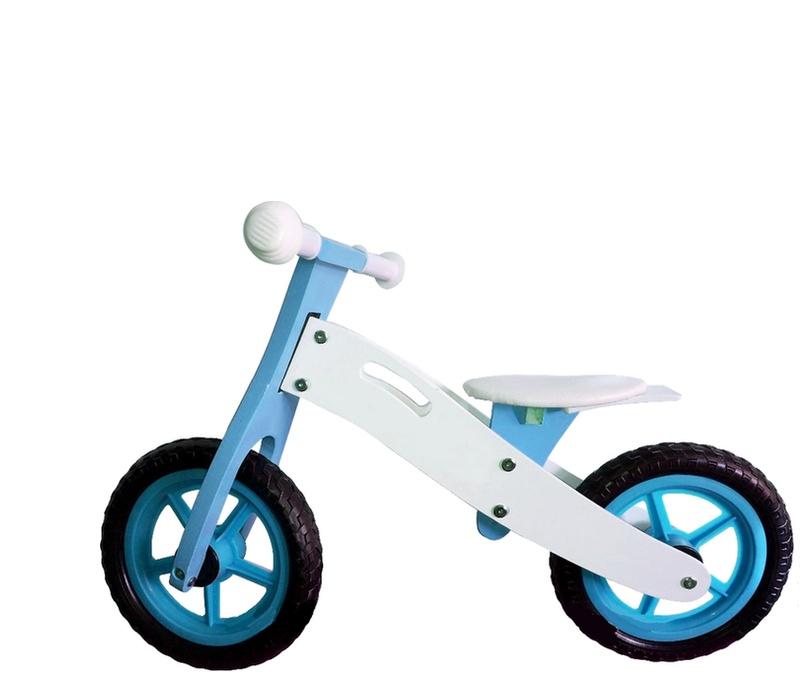 Wooden Toys Odrážedlo BASIC Blue