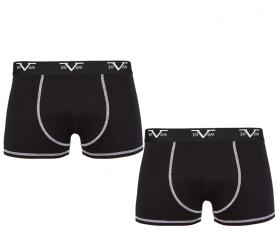 Versace Chlapecké boxerky 2-Pack Black C12