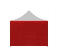 Aga Bočnice k altánku POP UP 2x2 m Red