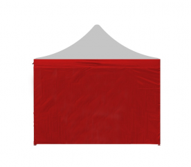 Aga oldal a pavilonhoz POP UP 2x2 m Red
