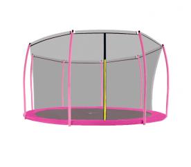 Aga Siatka do trampoliny 366 cm 12ft wewnętrzna na 8 słupków Black (ring)