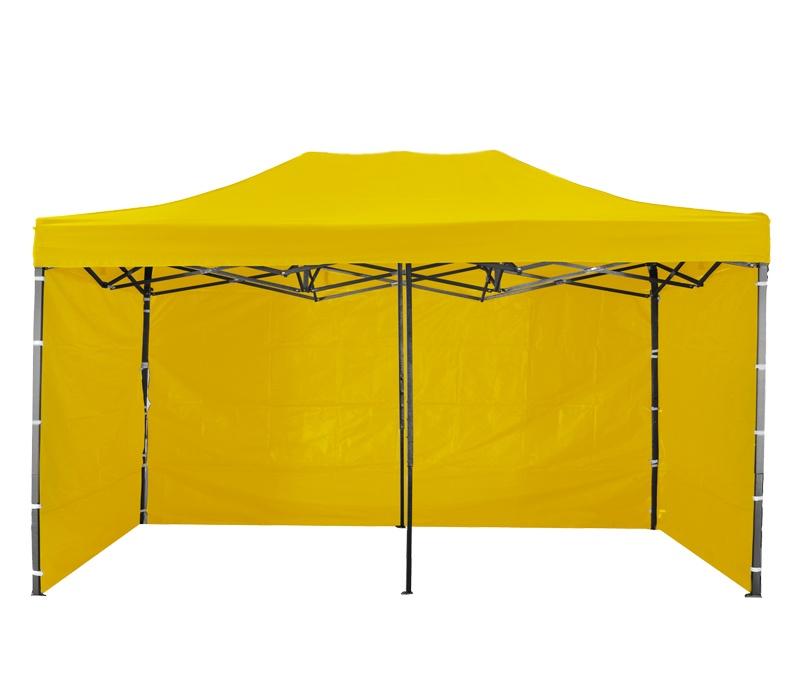 Aga Predajný stánok 3S POP UP 3x6 m Yellow