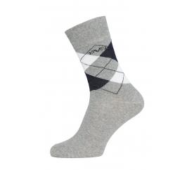 Versace 19.69 Ponožky BUSINESS 5-Pack Light Grey-White (C172)