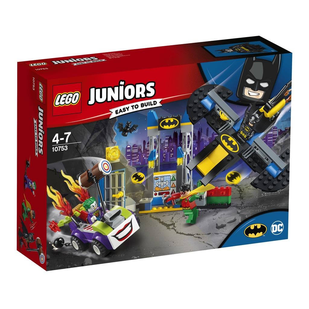 Lego Juniors Joker™ útočí na Batcave