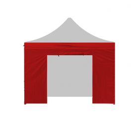 AGA oldalfal ajtóval 2x2 m Red