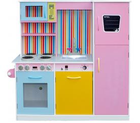 Aga4Kids Dřevěná kuchyňka RAINBOW