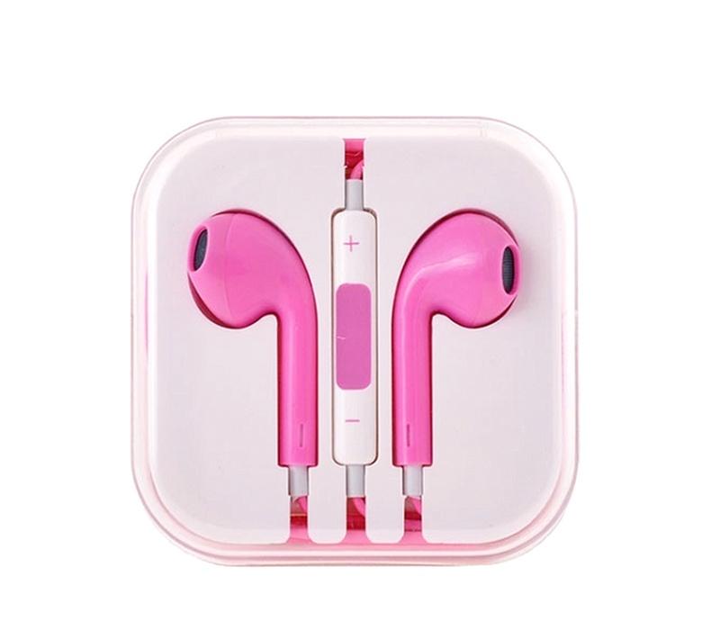 Aga Sluchátka EARPODS Pink