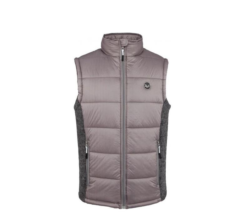 Versace 19.69 Pánská prošívaná vesta C80 Grey