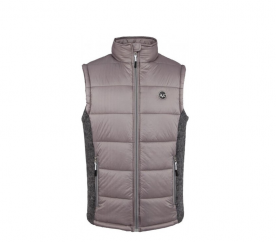 Versace 19.69 Pánska prešívaná vesta C80 Grey