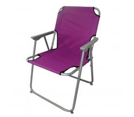 Linder Exclusiv Krzesło ogrodowe turystyczne OXFORD PO2600L Lila