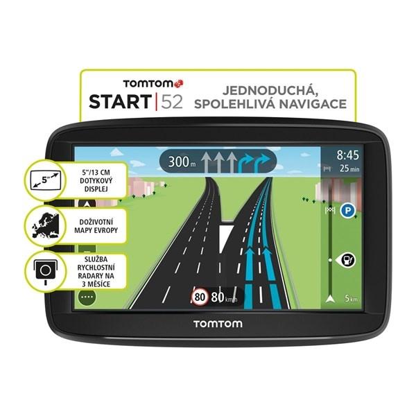 TomTom GPS navigácia Start 52 CE