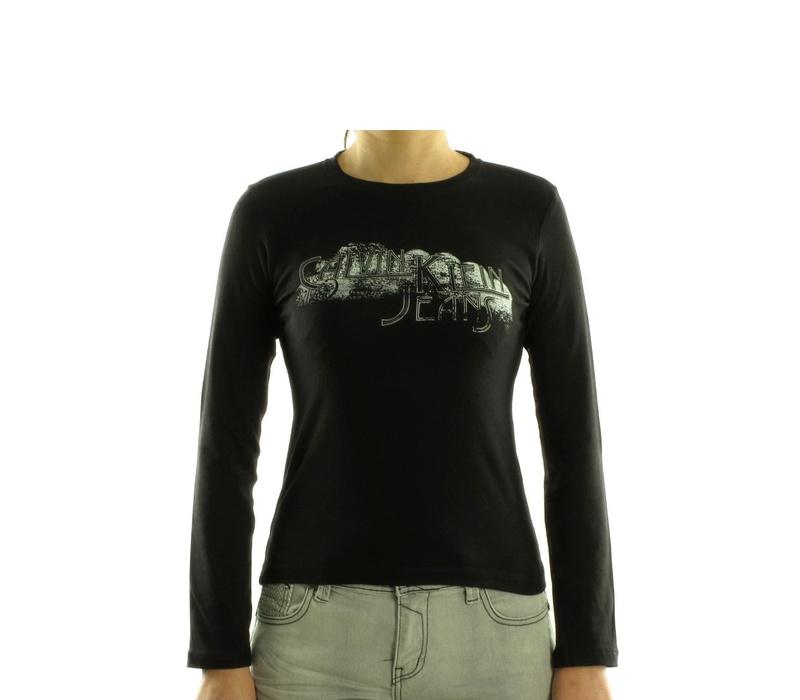 CALVIN KLEIN Dámske tričko cwp92b Noir