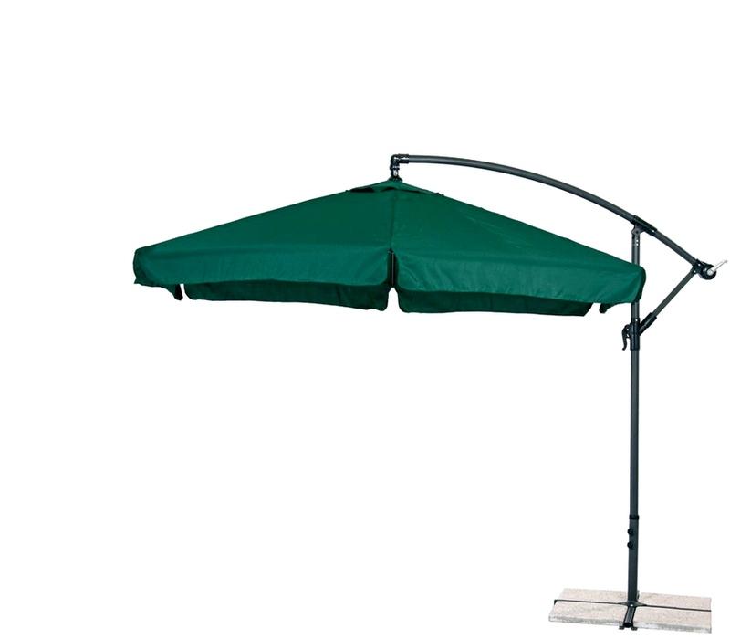 Aga Zahradní slunečník EXCLUSIV GARDEN 300 cm Dark Green