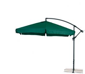 Aga Zahradní slunečník konzolový EXCLUSIV GARDEN 300 cm Dark Green