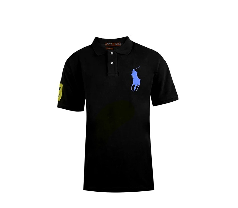 Ralph Lauren CUSTOM-FIT Black Big Pony Blue
